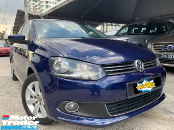 2013 VOLKSWAGEN POLO 1.6 (A) Sedan Classics Tip Top