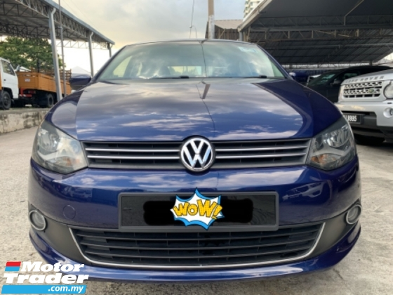 2013 VOLKSWAGEN POLO 1.6 (A) Sedan Classics Tip Top