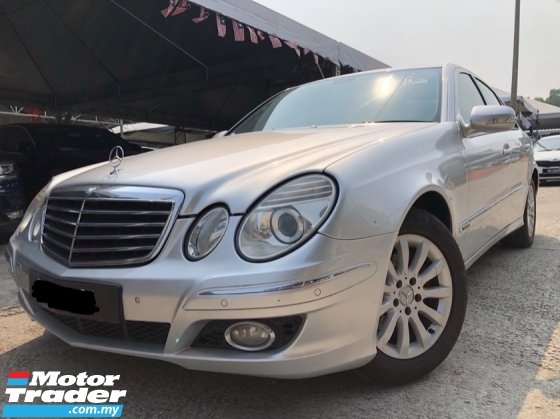 2007 MERCEDES-BENZ E-CLASS E200K ELEGANCE, One Owner, Nice Condition,Call Now