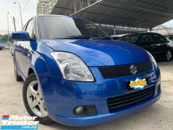 2006 SUZUKI SWIFT 1.5 (A) Sport Blue Car