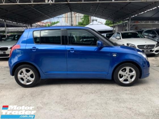 2006 SUZUKI SWIFT 1.5 (A) Sport Blue Car