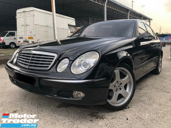 2004 MERCEDES-BENZ E-CLASS E240 2.6 (A) One Owner, Nice Condition,Call Now