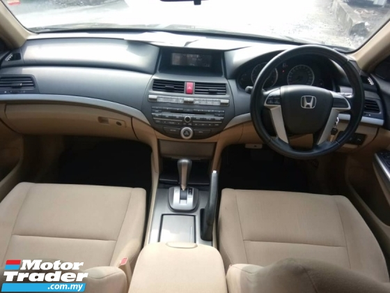 2012 HONDA ACCORD 2.0 VTI-L FULL SERVICE HONDA