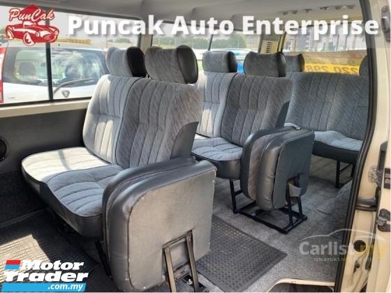 1997 TOYOTA HIACE 1997 Toyota Hiace 2.0 Van