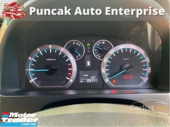 2009 TOYOTA ALPHARD 2009 Toyota Alphard 3.5 G 350G MPV