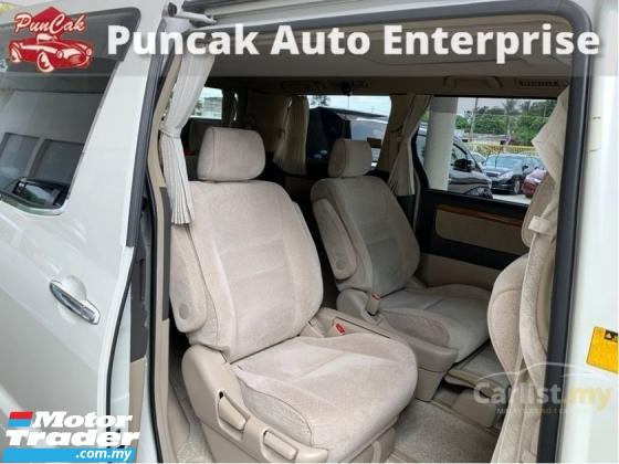 2007 TOYOTA ALPHARD 2007 Toyota Alphard 2.4 G MPV
