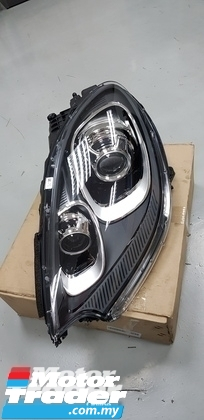 Porsche Macan HEAD LAMP NEW USED RECOND CAR PARTS SPARE PARTS AUTO PART HALF CUT HALFCUT GEARBOX TRANSMISSION PORSCHE MALAYSIA