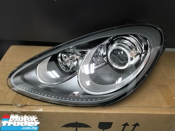 PORSCHE Cayenne HEAD LAMP NEW USED RECOND CAR PARTS SPARE PARTS AUTO PART HALF CUT HALFCUT GEARBOX TRANSMISSION PORSCHE MALAYSIA