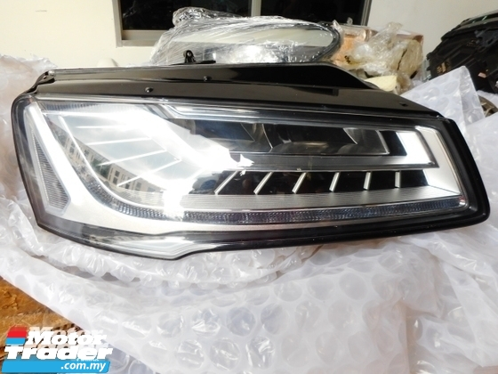 AUDI A8 HEAD LAMP DAYLIGHT NEON NEW USED RECOND CAR PARTS SPARE PARTS AUTO PART HALF CUT HALFCUT GEARBOX TRANSMISSION AUDI MALAYSIA
