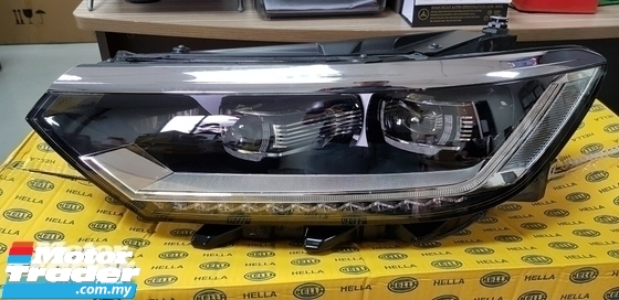 VOLKSWAGEN PASSAT CC B8 HEAD LAMP DAYLIGHT NEW USED RECOND CAR PARTS SPARE PARTS AUTO PART HALF CUT HALFCUT GEARBOX TRANSMISSION VOLKSWAGEN MALAYSIA
