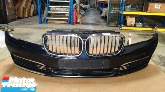 BMW G11 7 SERIES FRONT BUMPER  NEW USED RECOND CAR PARTS SPARE PARTS AUTO PART HALF CUT HALFCUT GEARBOX TRANSMISSION MALAYSIA Enjin servis kereta potong separuh murah BMW Malaysia