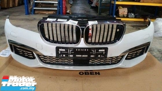 BMW G12 7 SERIES FRONT BUMPER  NEW USED RECOND CAR PARTS SPARE PARTS AUTO PART HALF CUT HALFCUT GEARBOX TRANSMISSION MALAYSIA Enjin servis kereta potong separuh murah BMW Malaysia