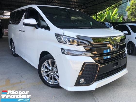 2016 TOYOTA VELLFIRE 2.5 GOLDEN EYES  SUNROOF  PRECRASH