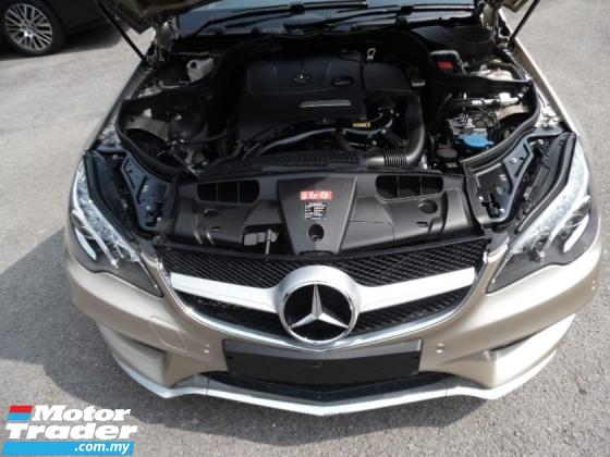 2015 MERCEDES-BENZ E-CLASS E200 AMG SPORT CABRIOLET SOFT TOP