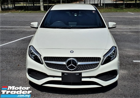 2017 MERCEDES-BENZ A-CLASS 2017 MERCEDES BENZ A180 AMG1.6 TURBO NEW UNREG JAPAN SPEC CAR SELLING PRICE ONLY ( RM 168,000.00 NEG