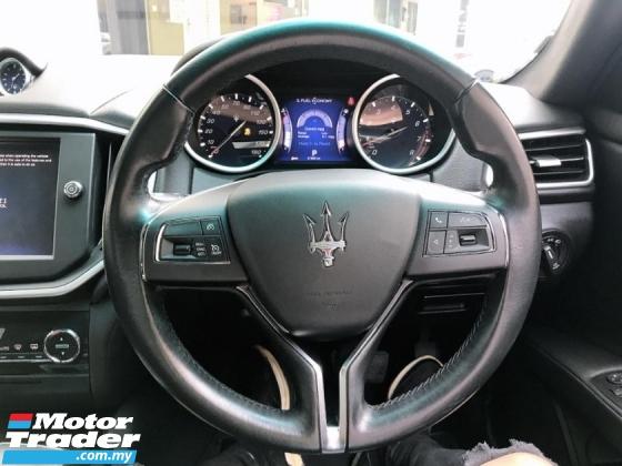 2015 MASERATI GHIBLI  3.0 (A) V6 twin Turbo High spec