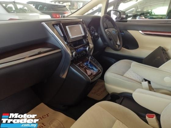 2016 TOYOTA ALPHARD Toyota Alphard 2.5 X with pre crash