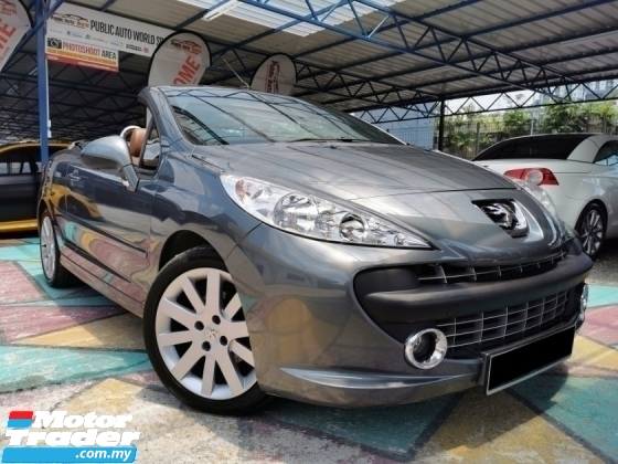 2008 PEUGEOT 207 Peugeot 207 SPORT COUPE CONVERTIBLE LIMITED WRRNTY