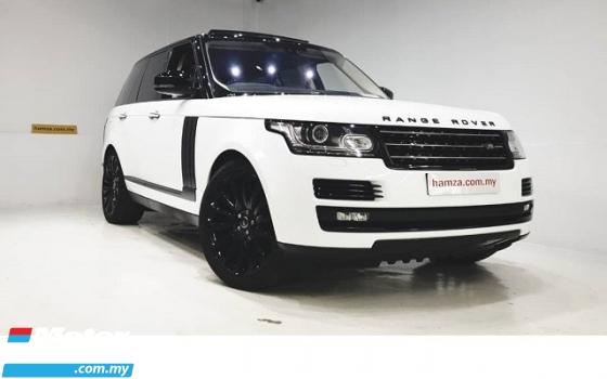 2016 LAND ROVER RANGE ROVER VOGUE 3.0 SUPERCHARGED AUTOBIOGRAPHY UNREG