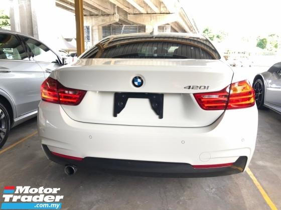 2015 BMW 4 SERIES 420i M Sport Coupe 2.0 Twin-Turbo Intelligent Pre-Crash Lane Departure Warning Sport PLUS/Comfort