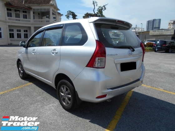 2014 TOYOTA AVANZA 1.5 G FACELIFT MPV 8 SEATER FUEL SAVE LIKE NEW