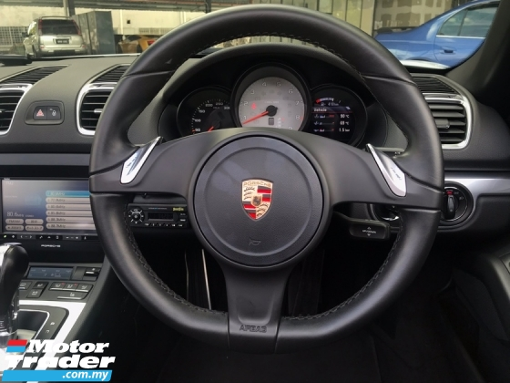 2013 PORSCHE BOXSTER BOXSTER S 3.4 PDK MUST VIEW