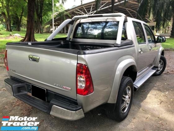 2012 ISUZU D-MAX 2.5L Ddi iTEQ 4x4 (M) (PREMIUM) DOUBLE CAB 1 OWNER