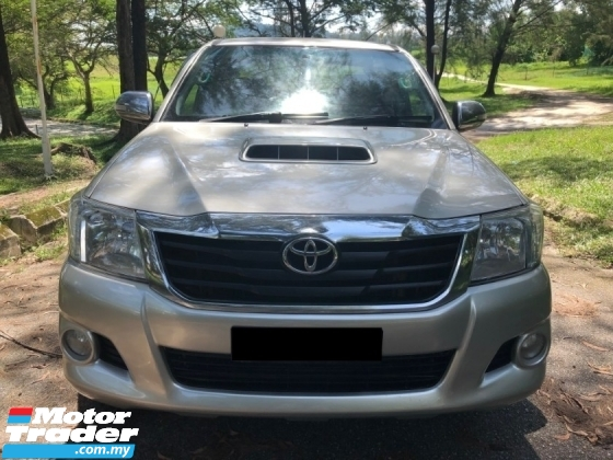 2013 TOYOTA HILUX DOUBLE CAB 3.0G (AT) VNT FACELIFT INTERCOOLER