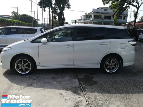 2015 TOYOTA WISH 1.8 Valvematic