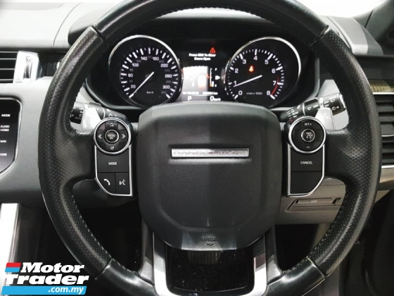 2015 LAND ROVER RANGE ROVER SPORT 3.0 SUPERCHARGED HSE UNREGISTERED