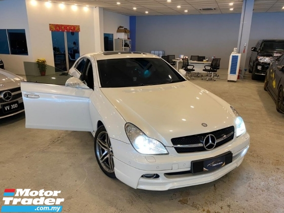 2006 MERCEDES-BENZ CLS-CLASS CLS350 AMG SPORTS EDITION SUN ROOF