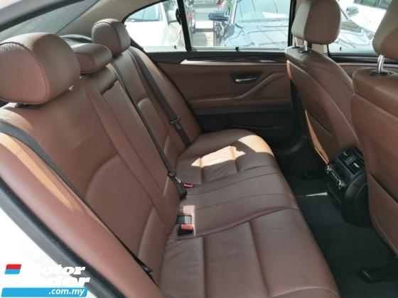 2014 BMW 5 SERIES 520i 2.0cc Local ((( PROMOSI HEBAT RAYA ))) FREE 2 YEARS WARRANTY Mil 100k km Full Service Ingress