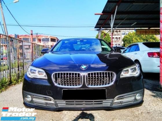 2015 BMW 5 SERIES 520I WARRANTY UNDER BMW
