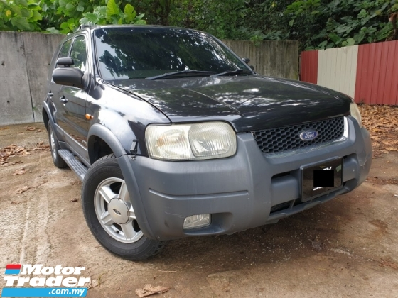 2002 FORD ESCAPE 2.0 XLT SUV (A) WELL MAINTAIN