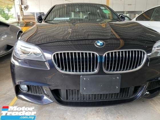 2014 BMW 5 SERIES  520I  M/SPORT  UN-REGISTER