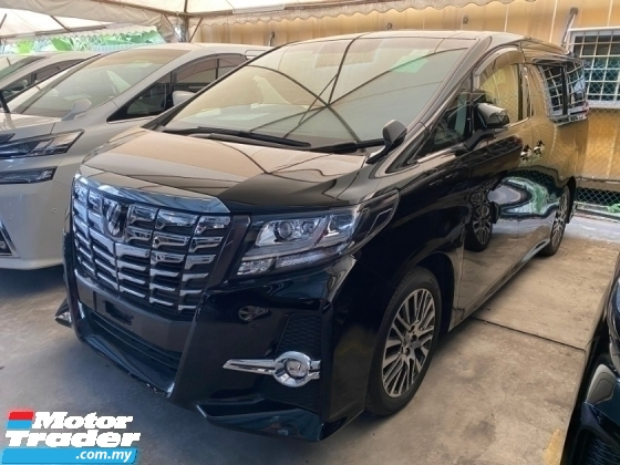2017 TOYOTA ALPHARD 2.5SC POWER/BOOT 360 CAMERA UN-REGISTER