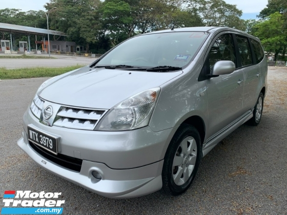 2011 NISSAN GRAND LIVINA IMPUL 1.6L (M) 1 Owner Only TipTop Condition