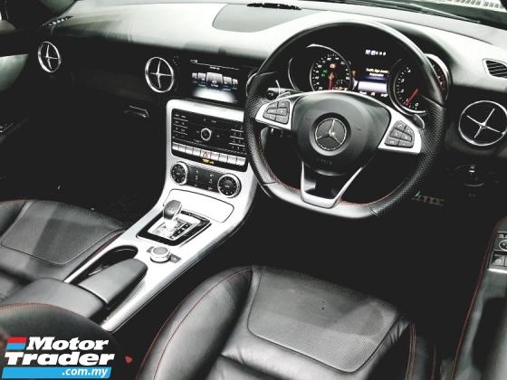 2017 MERCEDES-BENZ SL-CLASS SLC300 AMG ROADSTER 9-GTRONIC UNREG