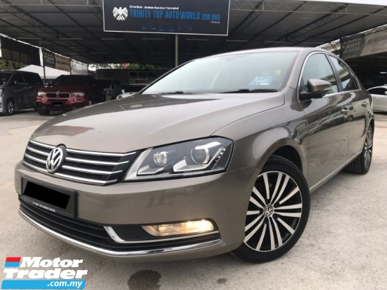 2013 VOLKSWAGEN PASSAT 1.8 TSI TURBO ENGINE = TIP TOP CONDITION= LOW MILEAGE = YES YEAR END OFFER = GREAT OFFER= PUCHONG DEALER