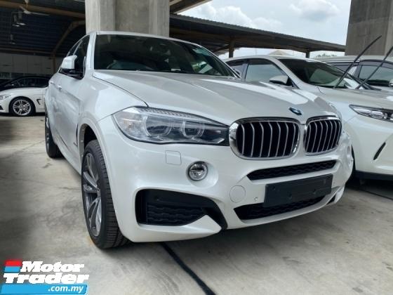 2015 BMW X6 40D 3.0 M/SPORT UN-REGISTER
