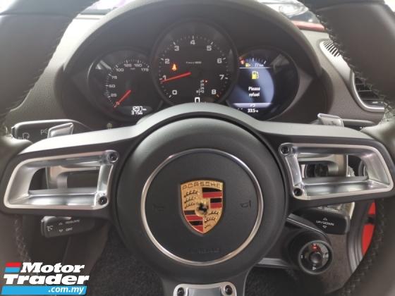2017 PORSCHE CAYMAN Porsche Cayman 718 2.0 Turbocharged Sport Chrono Package