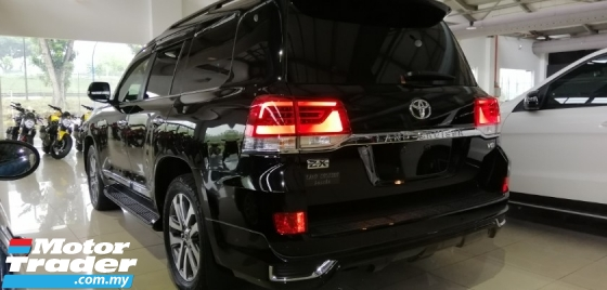 2016 TOYOTA LAND CRUISER ZX 60TH BLACK LEATHER SELECTION (RAYA SALES)
