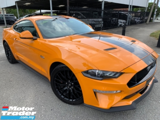 2018 FORD MUSTANG 50 GT COUPE UK