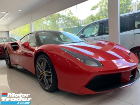 2016 FERRARI 488 GTB FUNKY RED UNREG 3.9 COUPE UK