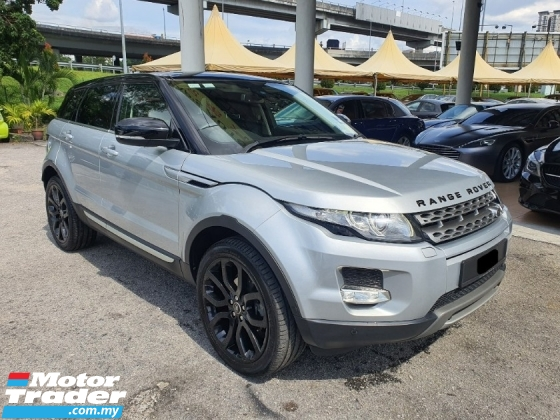 2013 LAND ROVER EVOQUE 2.0