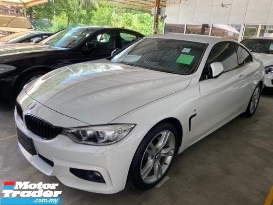 2015 BMW 4 SERIES 420i COUPE 2 DOOR 2.0 (A) M SPORT Un-register