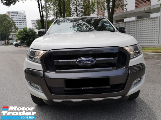2016 FORD RANGER  3.2 Wildtrak New Facelift FULL SERVICE RECORD