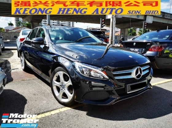 2016 MERCEDES-BENZ C-CLASS C200 BLUE EFFICIENCY AVANTGARDE