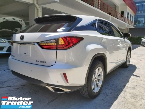 2016 LEXUS RX 200 RX200 2.0 TURBO (UNREG) LUXURY HIGH SPEC