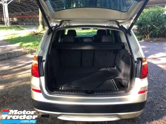 2012 BMW X3 xDRIVE20D (CBU) (A) TURBODIESEL HI SPEC